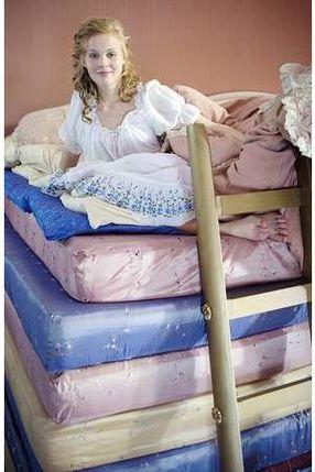 Poster: Die Prinzessin auf der Erbse