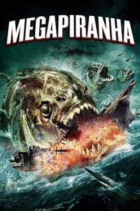 Poster: Mega Piranha