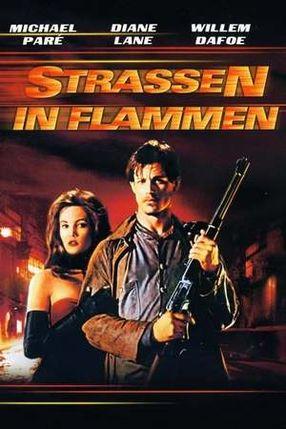 Poster: Straßen in Flammen