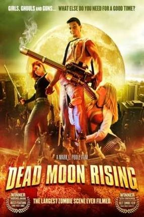 Poster: War of the Living Dead 2 - Dead Moon Rising