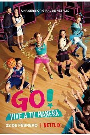 Poster: GO! Sei du selbst
