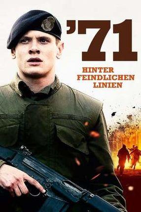 Poster: '71 - Hinter feindlichen Linien