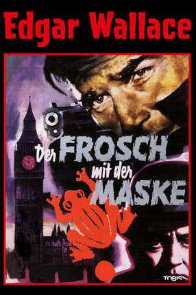 Poster: Edgar Wallace - Der Frosch mit der Maske