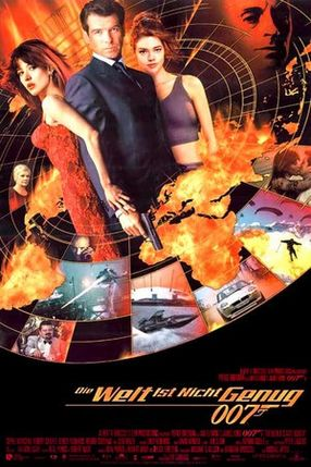 Poster: James Bond 007 - Die Welt ist nicht genug