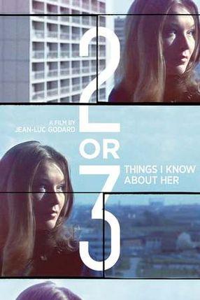 Poster: Zwei oder drei Dinge, die ich von ihr weiß