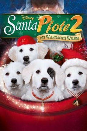 Poster: Santa Pfote 2 - Die Weihnachts-Welpen