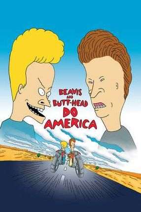 Poster: Beavis & Butthead machen's in Amerika
