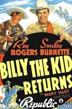 Poster: Billy the Kid kehrt zurück