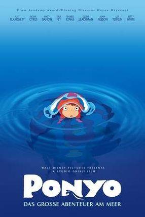Poster: Ponyo - Das große Abenteuer am Meer