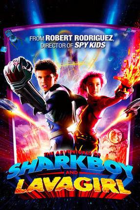 Poster: Die Abenteuer von Sharkboy und Lavagirl