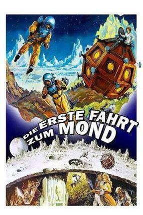Poster: Die erste Fahrt zum Mond