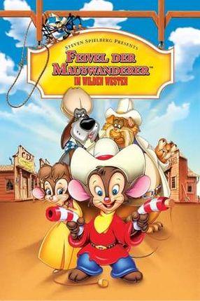 Poster: Feivel der Mauswanderer im Wilden Westen