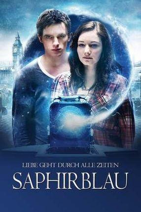 Poster: Saphirblau
