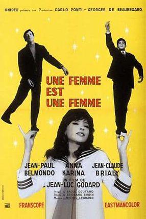 Poster: Eine Frau ist eine Frau