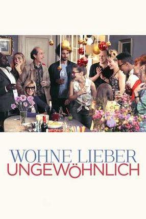 Poster: Wohne lieber ungewöhnlich