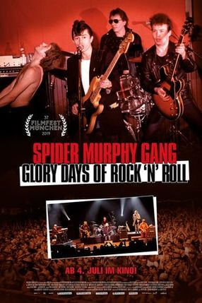 Poster: Spider Murphy Gang – Glory Days of Rock 'n' Roll