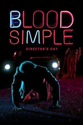 Poster: Blood Simple - Eine mörderische Nacht