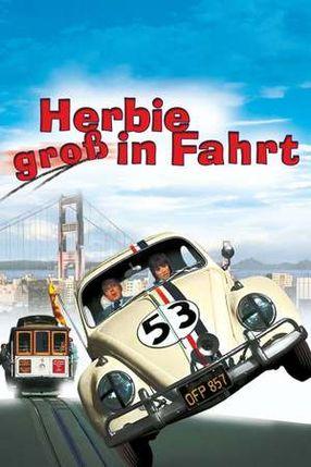 Poster: Herbie groß in Fahrt