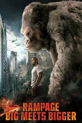 Poster: Rampage - Big meets Bigger