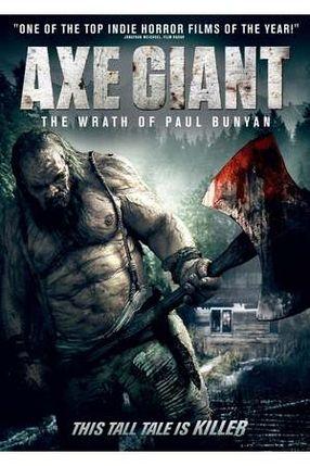 Poster: Axe Giant - Die Rache des Paul Bunyan