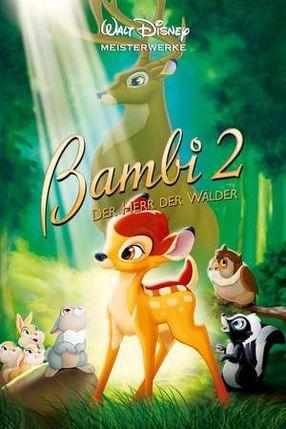 Poster: Bambi 2 - Der Herr der Wälder