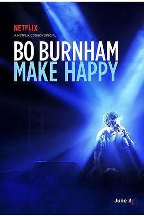 Poster: Bo Burnham: Make Happy