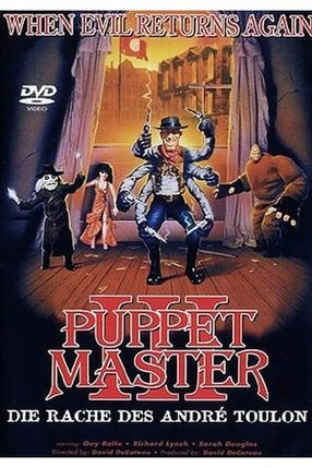 Poster: Puppet Master III - Toulons Rache