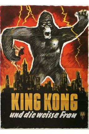 Poster: King Kong und die weiße Frau
