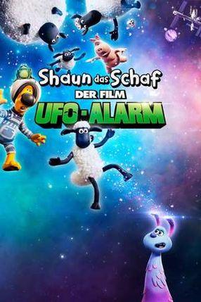 Poster: Shaun das Schaf - Der Film: UFO-Alarm