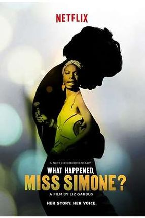 Poster: What Happened, Miss Simone?