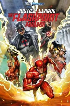 Poster: Justice League: The Flashpoint Paradox