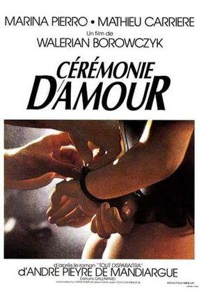 Poster: Cérémonie d'amour