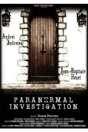 Poster: Paranormal Investigation